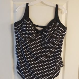 Polka dot Tankini Top